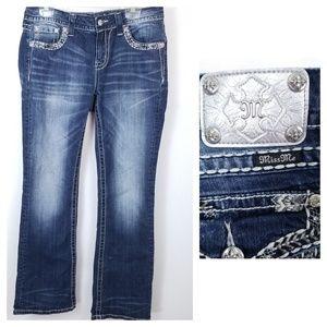 Miss Me 31 mid-rise boot cut Blue Jeans ME8129BA